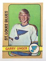 1972-73 Garry Unger St.Louis Blues 120 OPC O-Pee-Chee Hockey Card P165