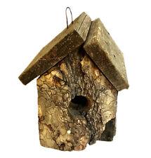 Birdhouse vintage rustic primitive style handmade wooden yard outdoor garden