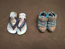 Bundle Of Boys shoes. Size 6. Age 2-3. F&F, Batman. <A3772