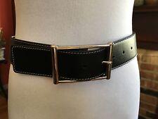 Lambertson Truex leather belt, made in Italy