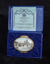 "Halcyon Days / Bilston Battersea ""Waterloo Bridge & St Paul's ""Trinket Box -Mib"