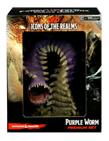 Purple Worm Premium Set Fangs and Talons 15 D&D Icons of the Realms SHIPS 11/11!