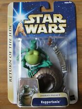 Star Wars 2004 Return of the Jedi Jabba's Palace RAPPERTUNIE Figure Brand New
