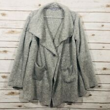 Hugs From Soft Surroundings Women's Size S Gray Sweater EP26-930