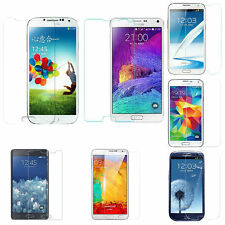 Tempered Glass Screen Protector Samsung Galaxy S7 S6 S5 S4 Note5 Note4 Note3 A5