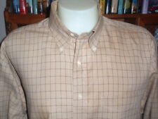 TOMMY HILFIGER 100% Cotton Men's Shirt Size 17.5 Long Sleeve Button-Down NWOT