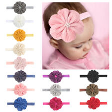 Newborn Baby Girl Headband Infant Hair accessories Flower Bow Headwear Hairband