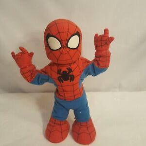 "Dancing Spider-Man 2006 Hasbro Marvel Singing/Dancing 14"" Itsy Bitsy Spiderman"