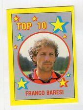 figurina IL GRANDE CALCIO VALLARDI 1988/89 NUMERO 308 TOP 10 BARESI