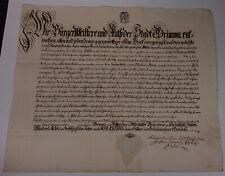 Schnörkel-Geburtsbrief Grimma 1768 für Christian Heßel (*1756)