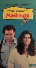 Madhouse(VHS,1990)John Larroquette,Kirstie Alley-TESTED-RARE VINTAGE-SHIPS N 24H
