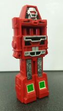 BUBBLE MAN, GoBots, 1984 Tootsietoy, red