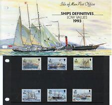 More details for 1993 sg 539/557 ships definitive presentation packs (set of 6)