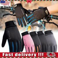 Outdoor Cycling Full Finger Glove Riding Sports Anti Slip Bike Bicycle Gloves US