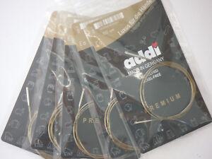 addiclick Seil für Rundnadel-Länge von 60, 80, 100,120 o. 150 cm stricken 659-7