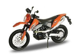 KTM 690 Enduro, Welly Motocross Motorad Modell 1:18, OVP, Neu