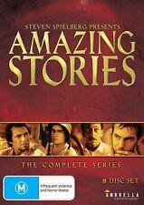 AMAZING STORIES Season 1 + 2 (Reg Free) DVD The Complete Original Series One Two