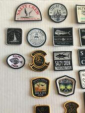 salty crew patches