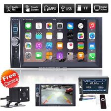 "6.6"" 2DIN Car DVD Player AUX Bluetooth MP3/MP4/Audio/Video/USB Rearview+Camera"
