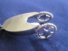 "Tone 16"" Spur Necklace Silver"