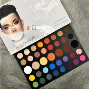 UK NEW Morphe x JAMES CHARLES 39 Shades Colours Professional Eyeshadow Palette