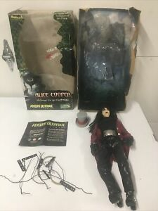 """Alice Cooper 18"""" Figure Welcome To My Nightmare 2001 Doll in Box"""