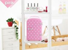 Mini Portable Refrigerator 4L Cooler & Warmer for cosmetic Fridge pink