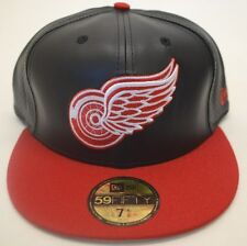 NEW!! Men's Detroit Red Wings Skin Cap 59Fifty 7 1/2 Fitted New Era Cap