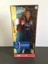 BARBIE DOLL NRFB SYDNEY OLYMPICS 2000 FRANCE FRENCH CHAMPIONNE OLYMPIQUE