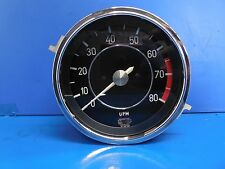 BMW E9 3.0CS OEM RPM UPM Tachometer Gauge (CLEANED/SERVICED) EXCELLENT Condition
