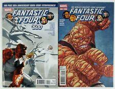 Fantastic Four #600 #601 Hickman Marvel Comics 2012