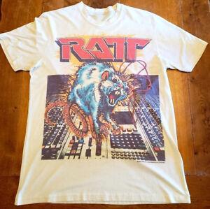 Ratt Concert Tour Tee Shirt Metal Hair Band