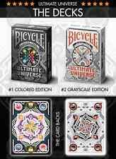 CARTE DA GIOCO BICYCLE ULTIMATE UNIVERSE,poker size
