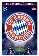 Champions League 18/19 - Karte 73 - FC Bayern M?nchen - Club Logo