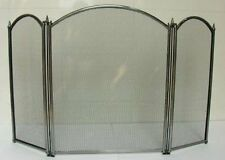 Inglenook 3 Panel Firescreen Fireguard Fireside Fireplace Baby Safety Guard