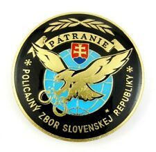 Rare Police Corps of the Slovak Republic Superb Badge Pin