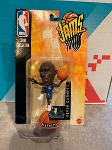 NEW 1998 Mattel NBA Jams Action Figure Kevin Garnett FACTORY SEALED