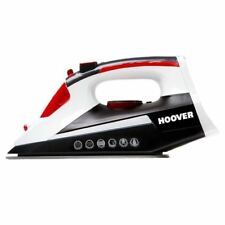 Hoover IronJet Turbo Steam Iron Black White Red 2500W Ceramic Plate - TIM2500CA