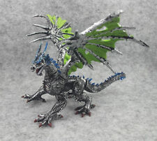 """Fantasy Silvery Dragon Action Figure 6"""" Children Toy Model"""