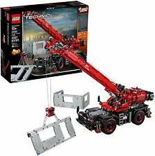 LEGO Technic Rough Terrain Crane Building Kit (42082, 4057 Pcs)