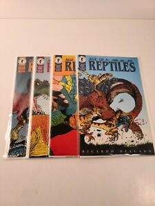 AGE OF REPTILES full set 1-4 (1 2 3 4) 1993 Dark Horse Comics 9.0 VF/NM 2595