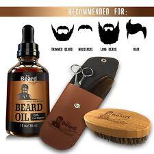 BEARD Legacy Grooming Trimmer Growth KIT Be a Beard CZAR Oil Brush Scissors Comb