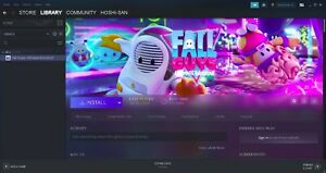 steam account with fall guy: Ultimate knockout