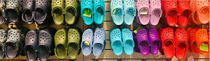 UNISEX CROCS Classic LIMITED EDITION COLORS LightWeight Non-Marking Slippers