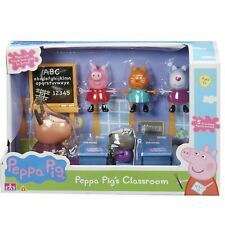 Peppa Pig 05033 Collectible Classroom Playset and Figures