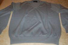 Navigare - Pullover uomo, Azzurro, 55% lana, 45% Acrilico,Tg L, usato