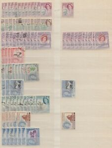 Southern Rhodesia Collection, Large Assembly (2 scans) VF Mint & F/used T134