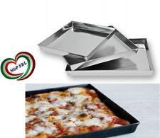 TRIS TRE TEGLIE TEGLIA PLACCA  DA FORNO PER PIZZA E FOCACCIA