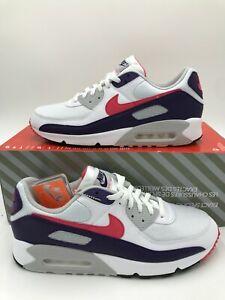 NEW Nike Air Max 90 III Mens Size 13 Womens 14.5 Eggplant White Shoe CW1360-100