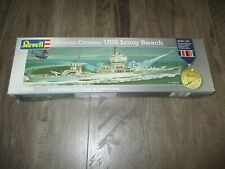 REVELL ATOMIC CRUISER USS LONG BEACH PLASTIC MODEL KIT 1:460 SEALED 00022